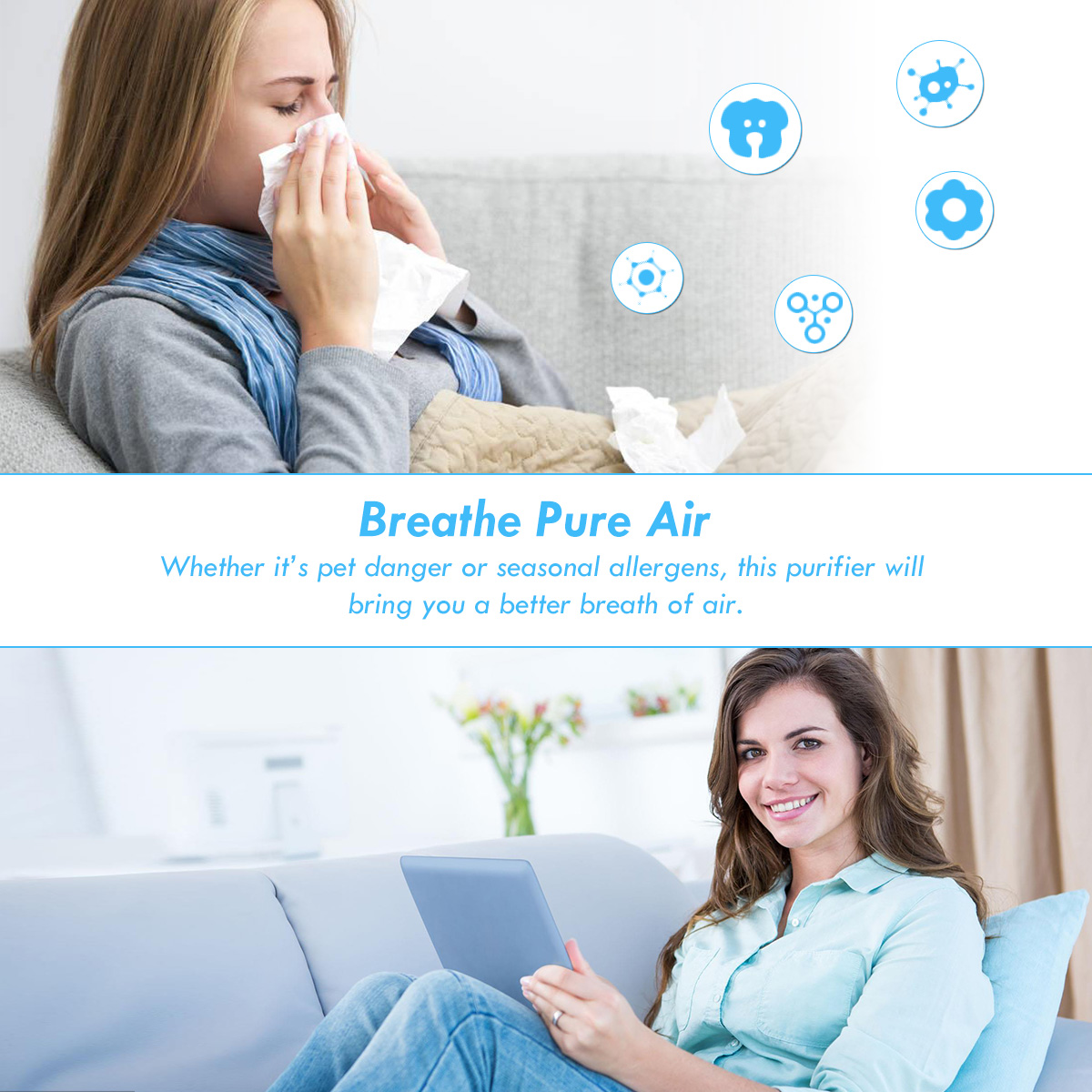 Powerful-Air-Purifier-Cleaner-HEPA-Filter-to-Remove-Odor-Dust-Mold-Smoke thumbnail 8