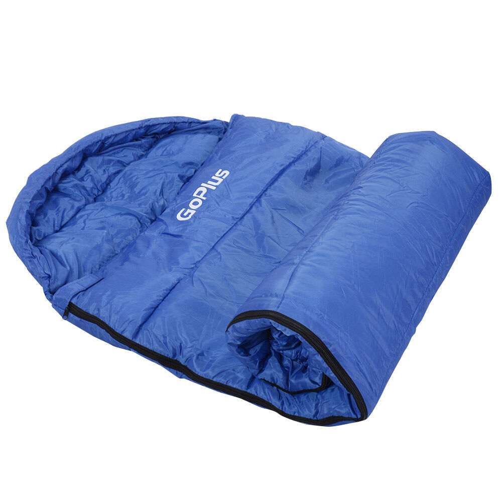 New-Mummy-Waterproof-Outdoor-Sleeping-Bag-Camping-Travel-Hiking-W-Carrying-Bag thumbnail 7