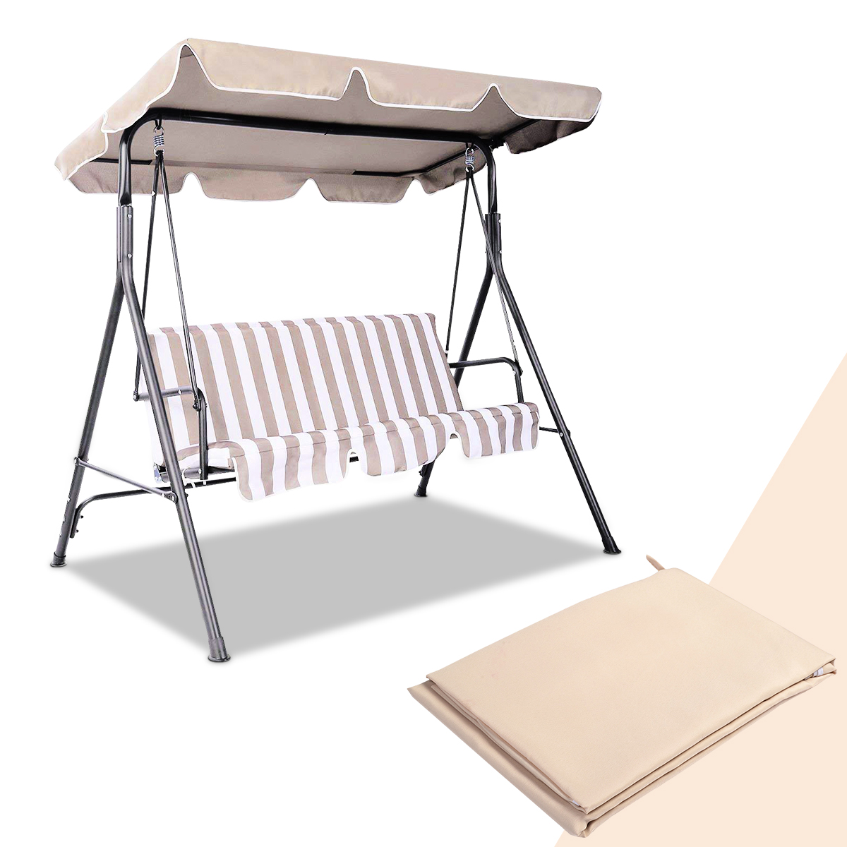 Swing-Top-Cover-Canopy-Replacement-Porch-Patio-Outdoor-66-034-x45-034-75-034-x52-034-77-034-x43-034 thumbnail 12