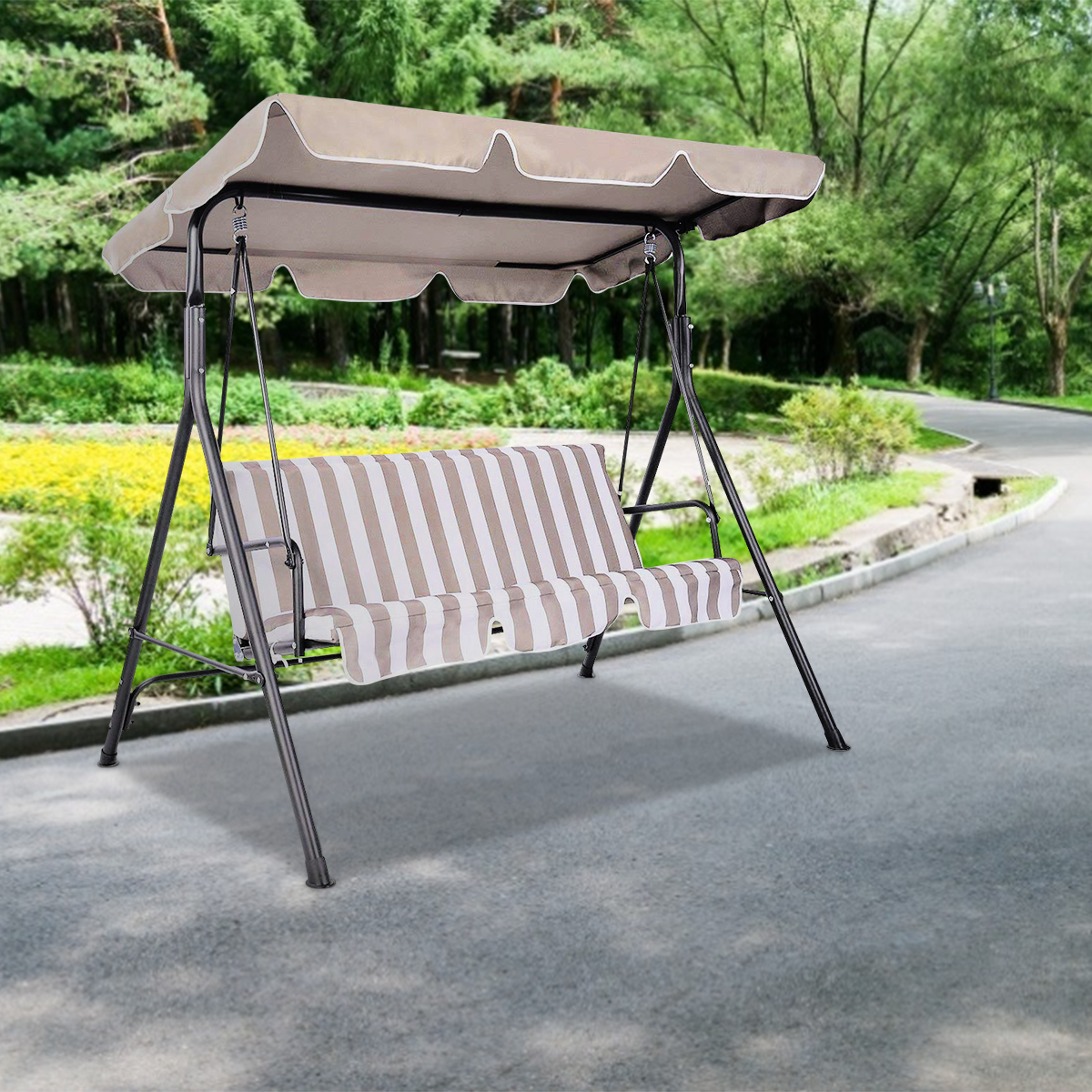 Swing-Top-Cover-Canopy-Replacement-Porch-Patio-Outdoor-66-034-x45-034-75-034-x52-034-77-034-x43-034 thumbnail 5