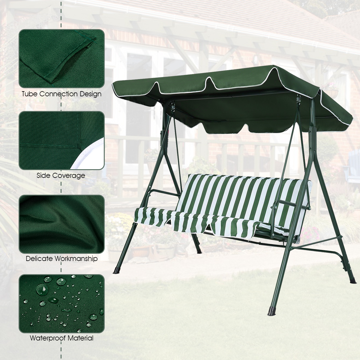 Swing-Top-Cover-Canopy-Replacement-Porch-Patio-Outdoor-66-034-x45-034-75-034-x52-034-77-034-x43-034 thumbnail 21