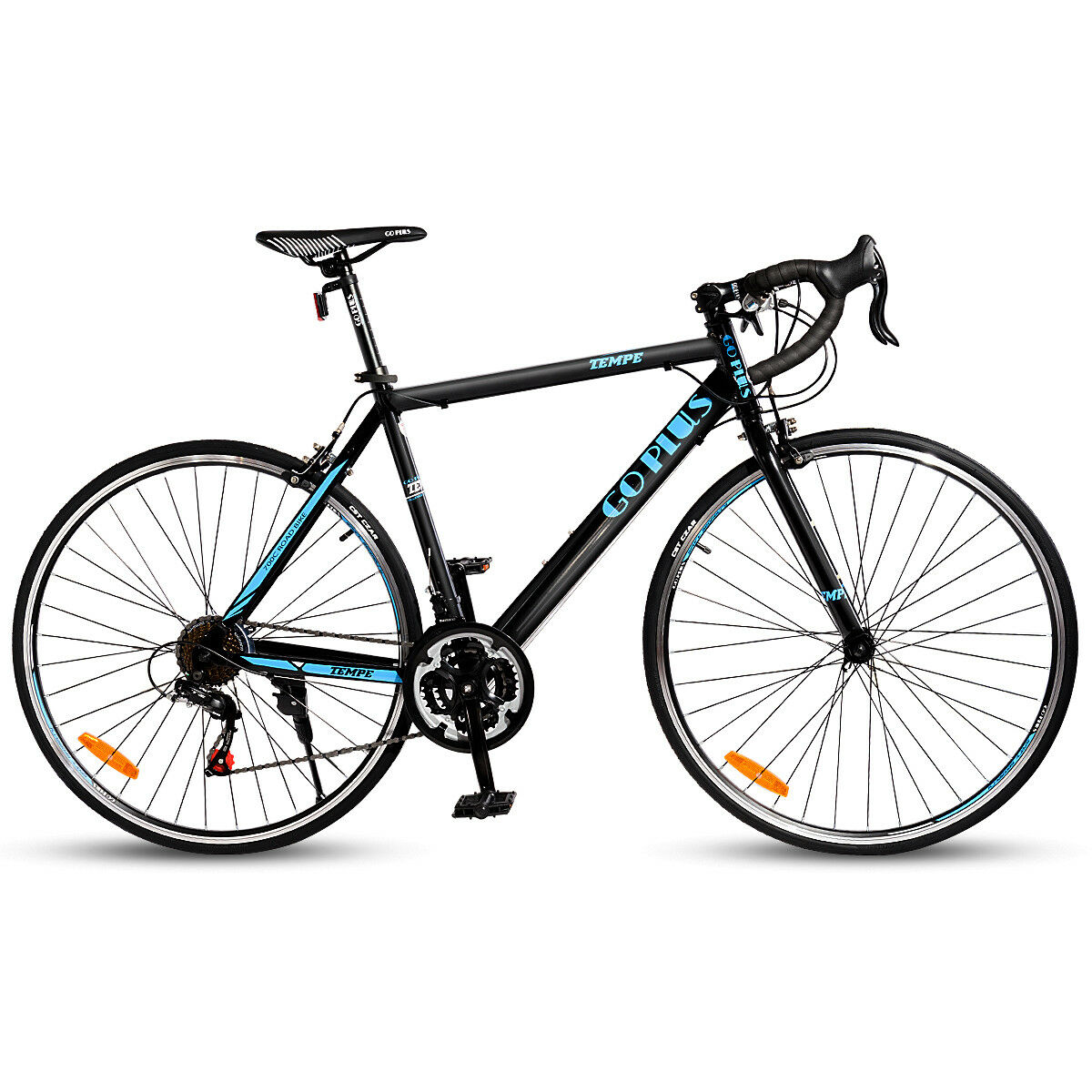 Shimano 700C 52cm Aluminum Road//Commuter Bike Bicycle 21 Speed Quick Release