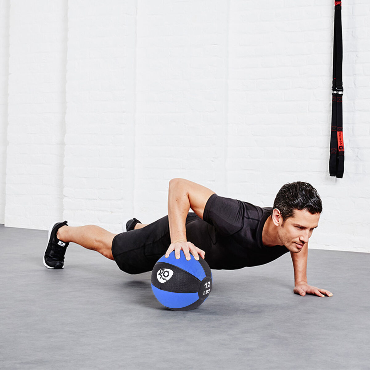 Fitness-Weighted-Medicine-Ball-Wall-Balance-Training-Muscle-Build-4-6-8-10-12lbs thumbnail 15