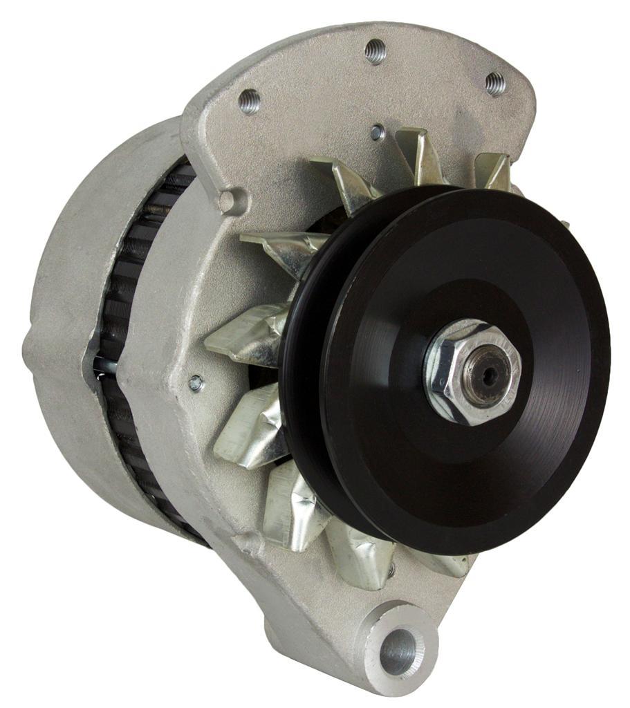 New Alternator Ford Tractor 335 340 340A 340B 345C 445 445A D5Nnba D5Nn-10300-Ba