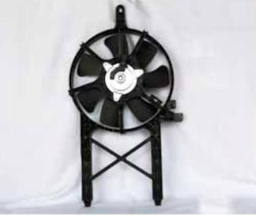 Partslink Number NI3120101 OE Replacement Condenser Fan Assembly
