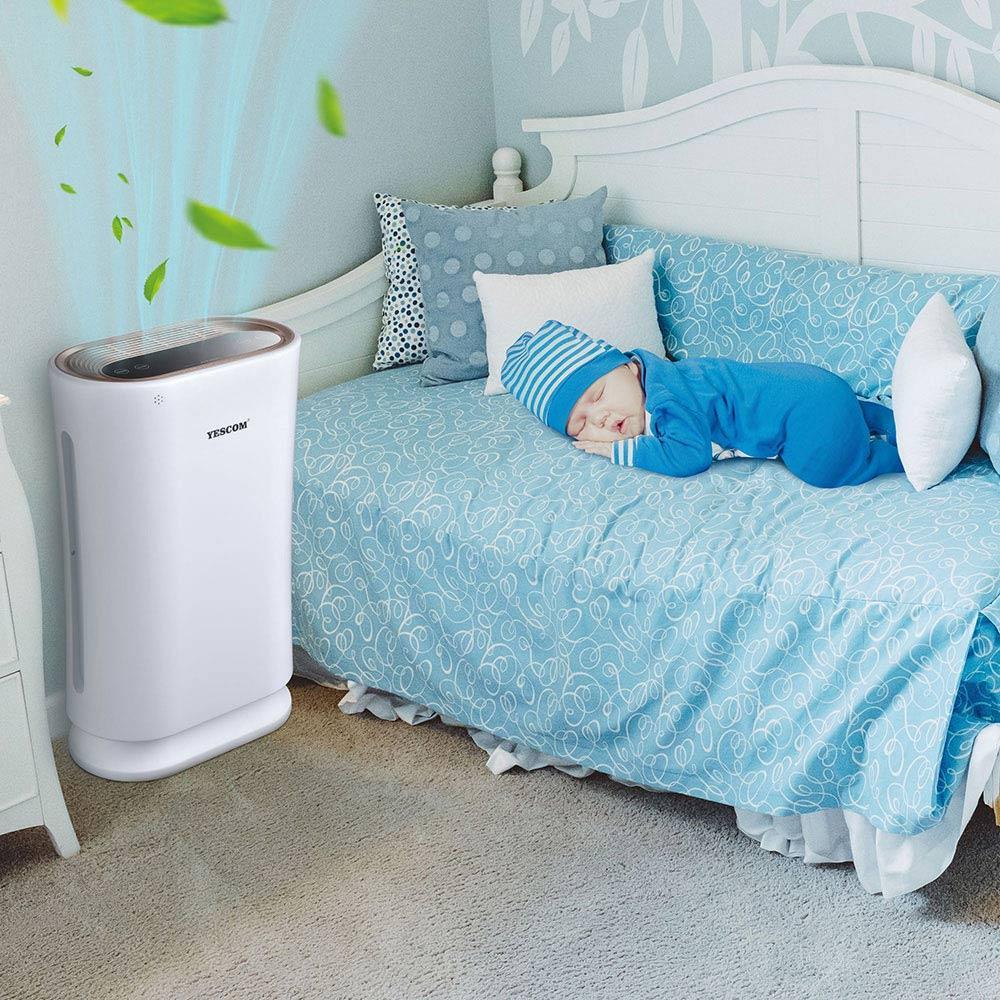 air purifier, yescomusa, clean air