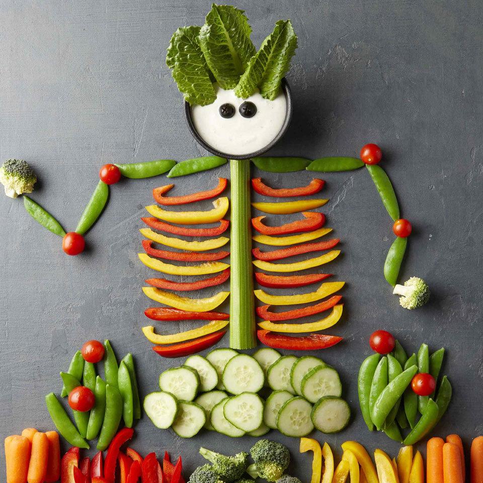 halloween vegetable tray, yescomusa, veggie tray