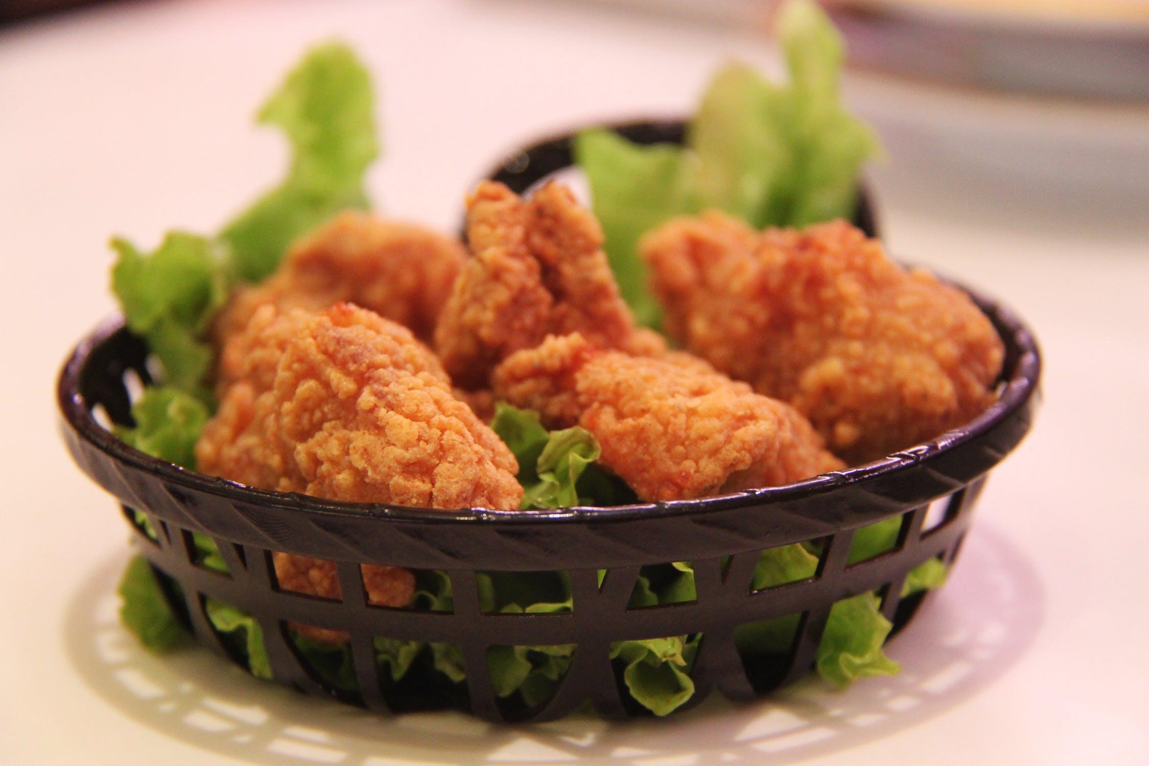 fried chicken, yescomusa, deep fryer