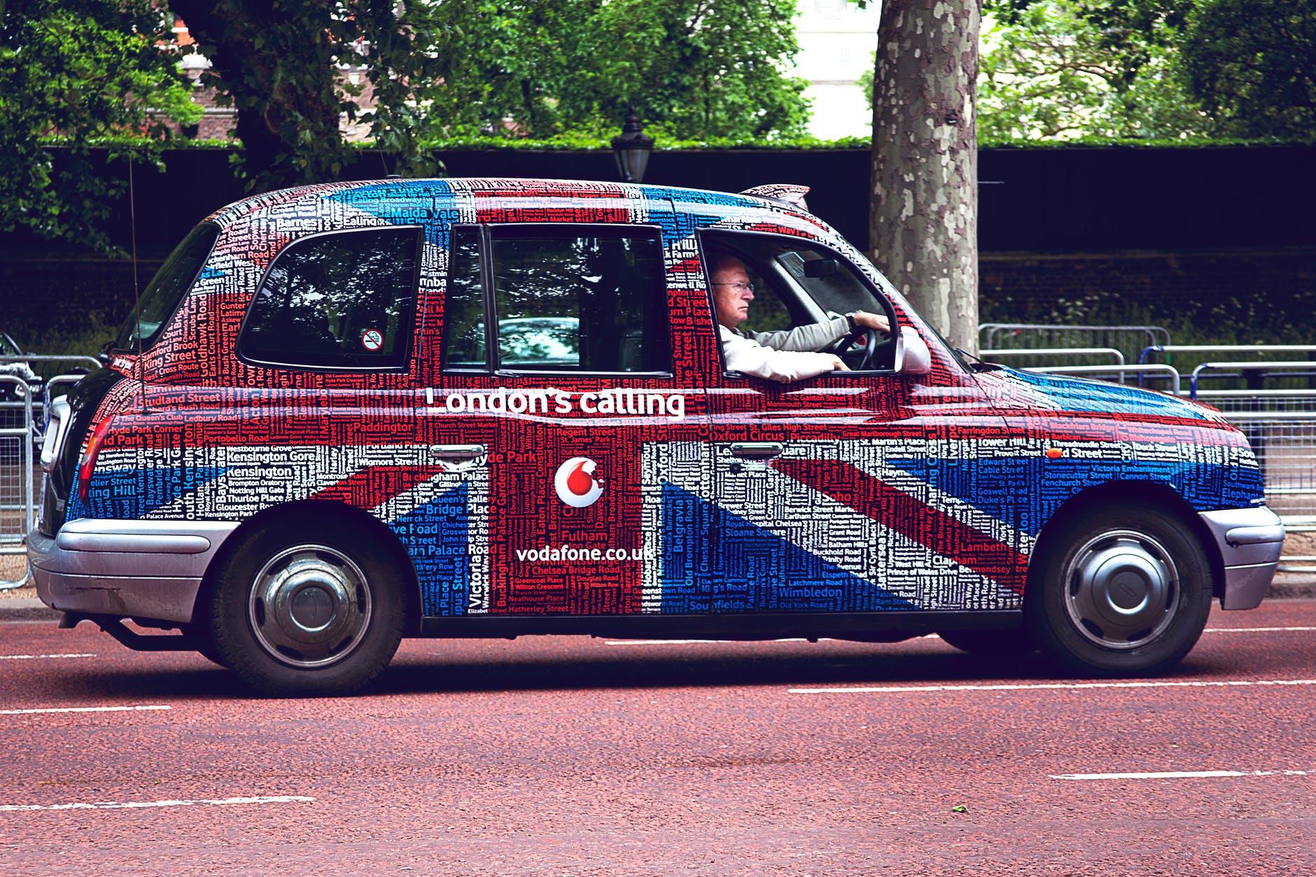 painted car, thelashop
