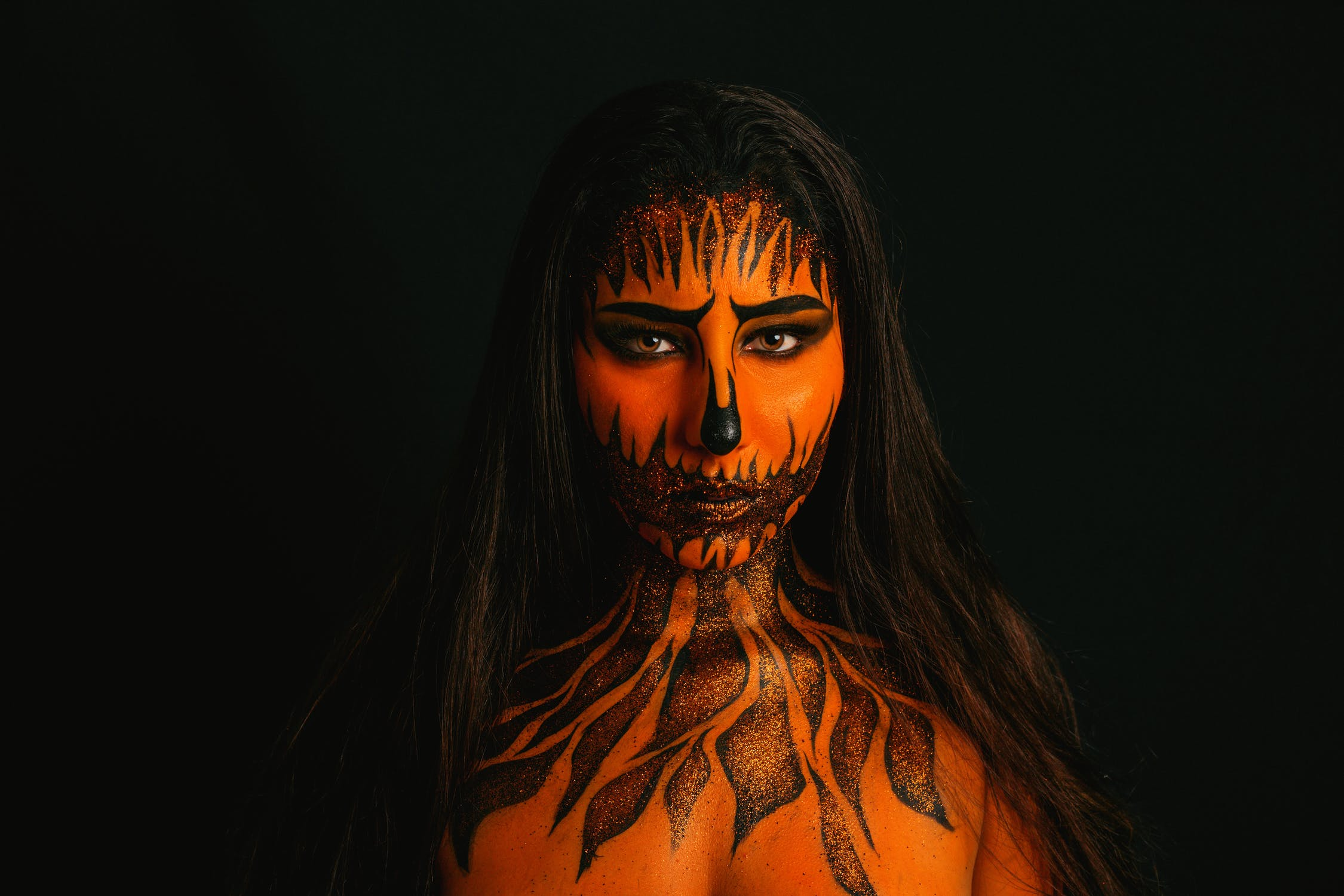 face paint, air brush, halloween, yescomusa