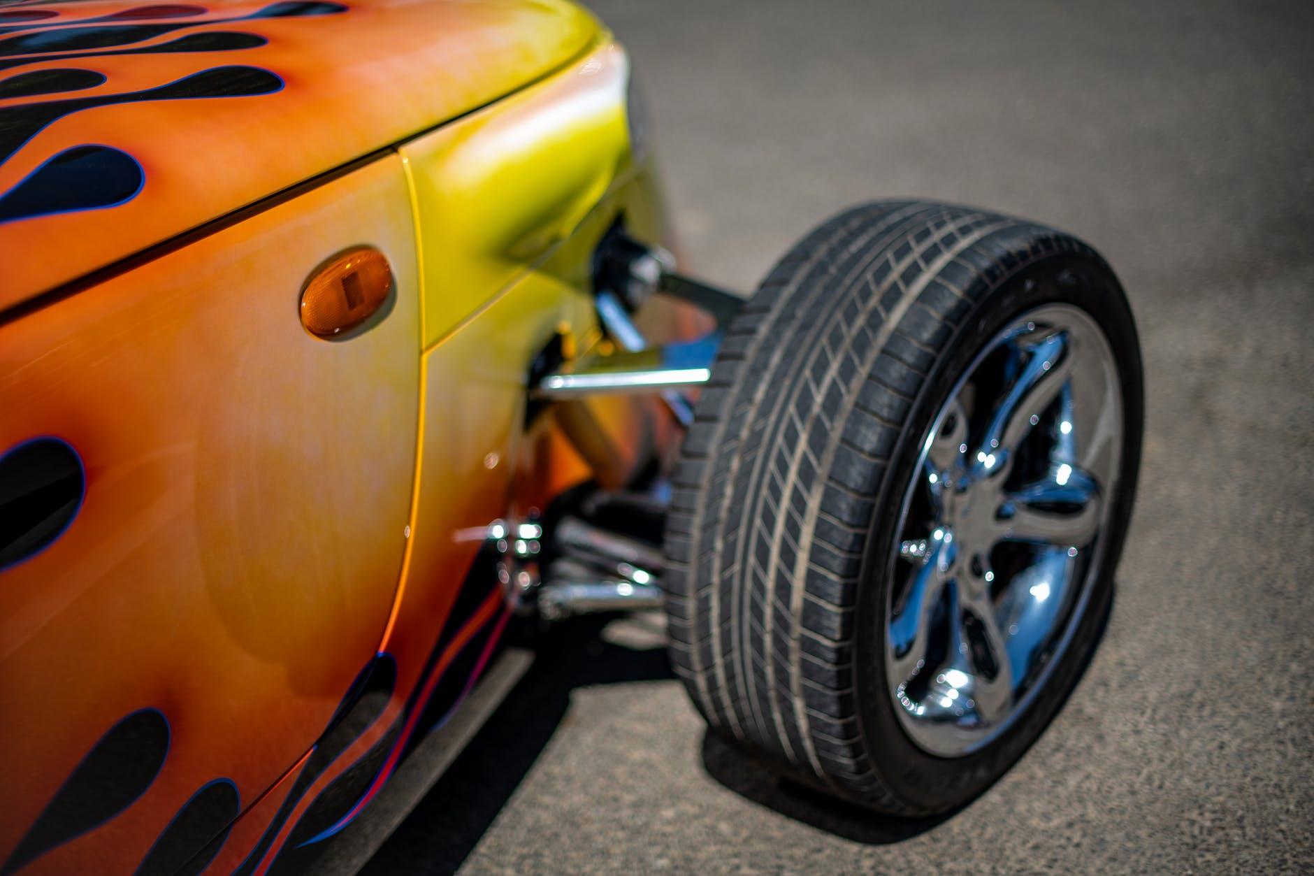 fire paint car, thelashop