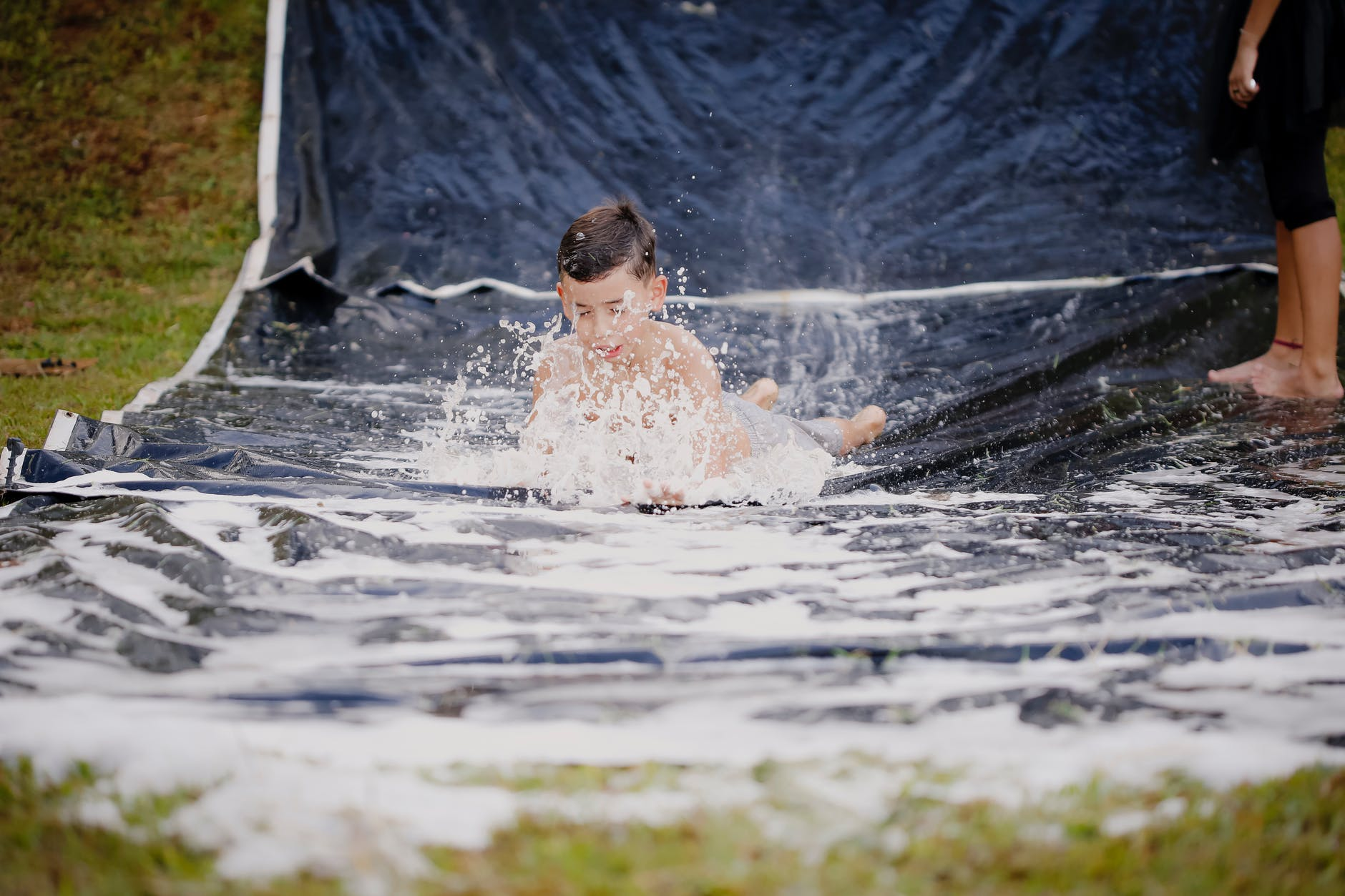 slip and slide, backyard upgrade, thelashop
