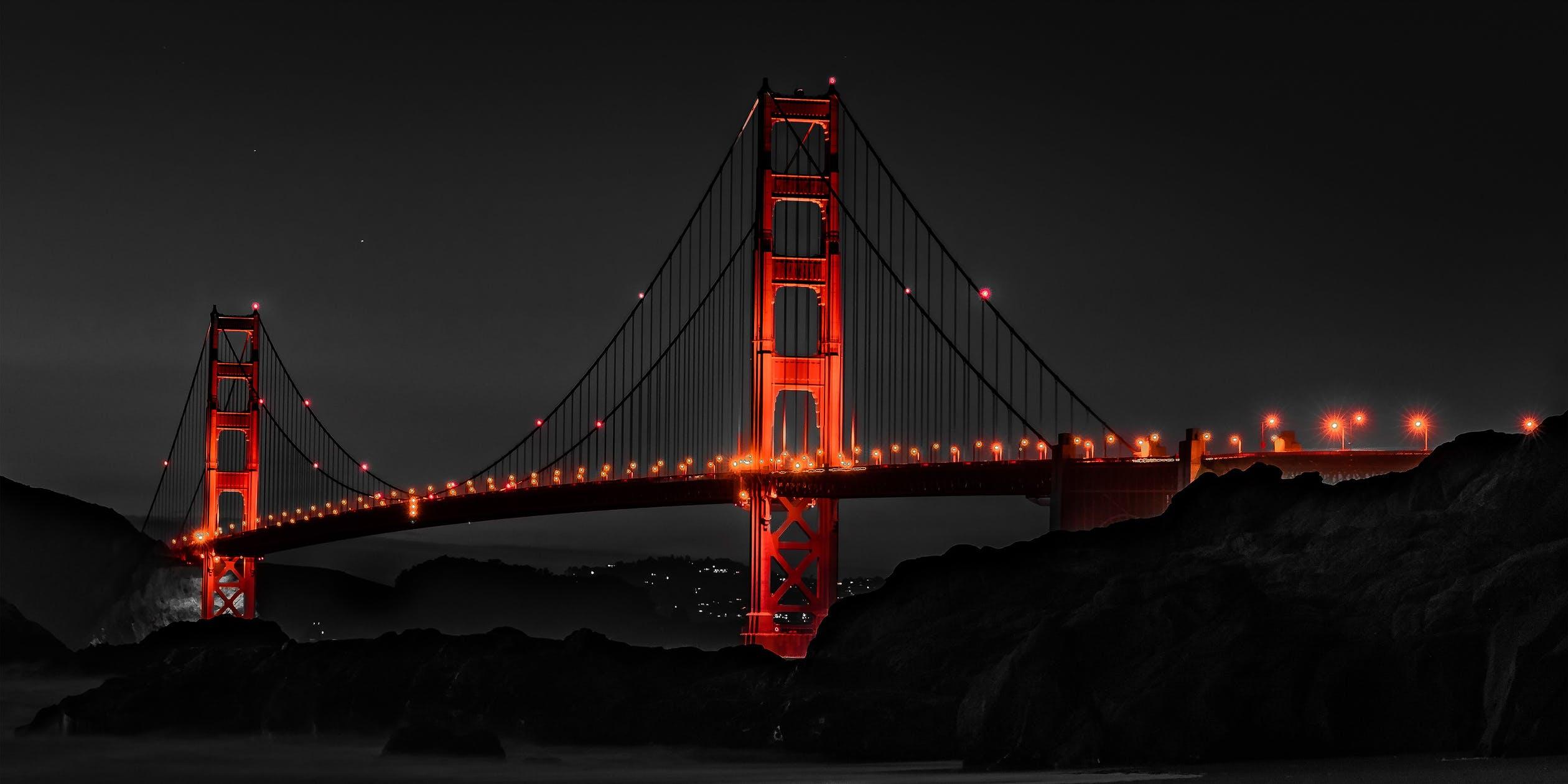 golden gate bridge, california, thelashop