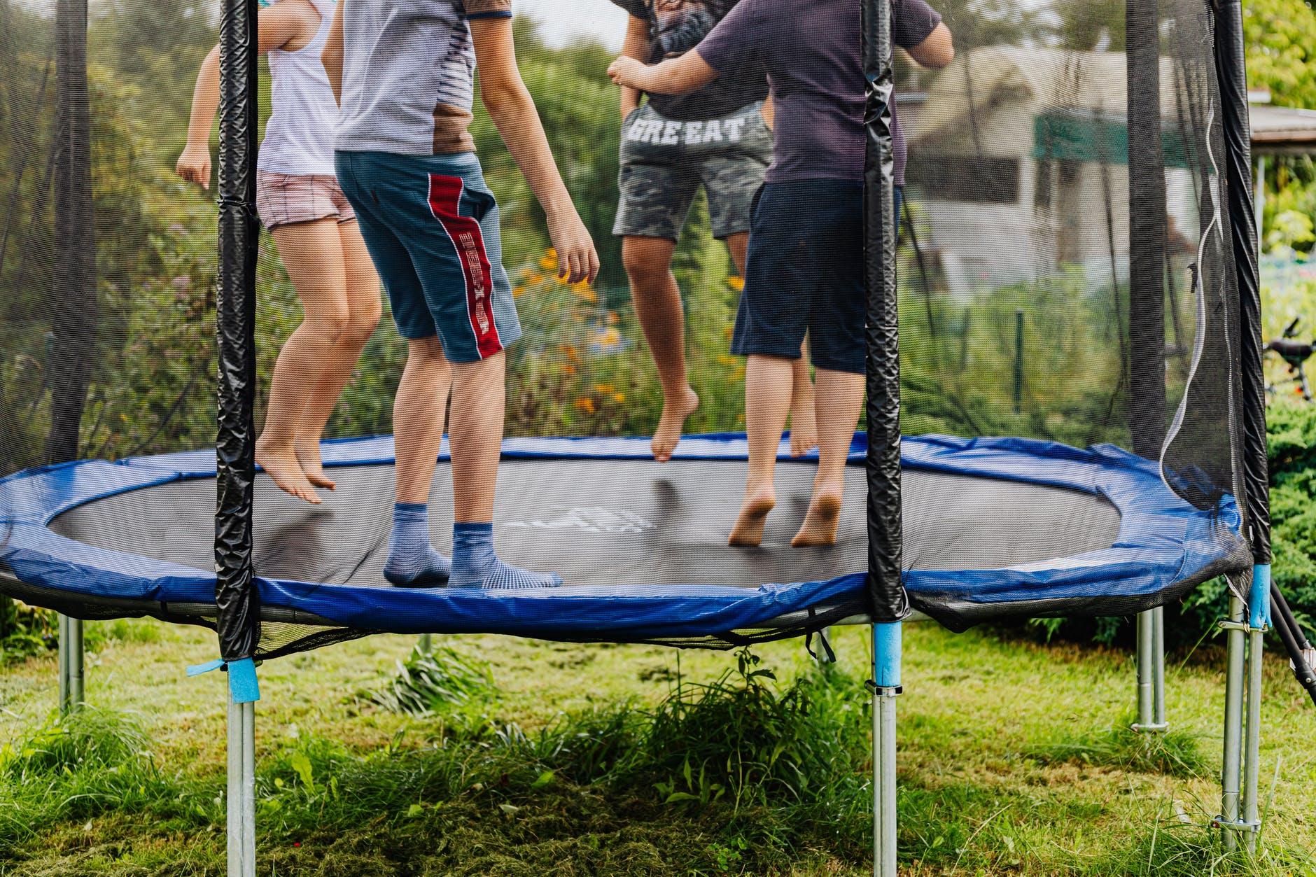 trampoline, yescomusa, backyard upgrade