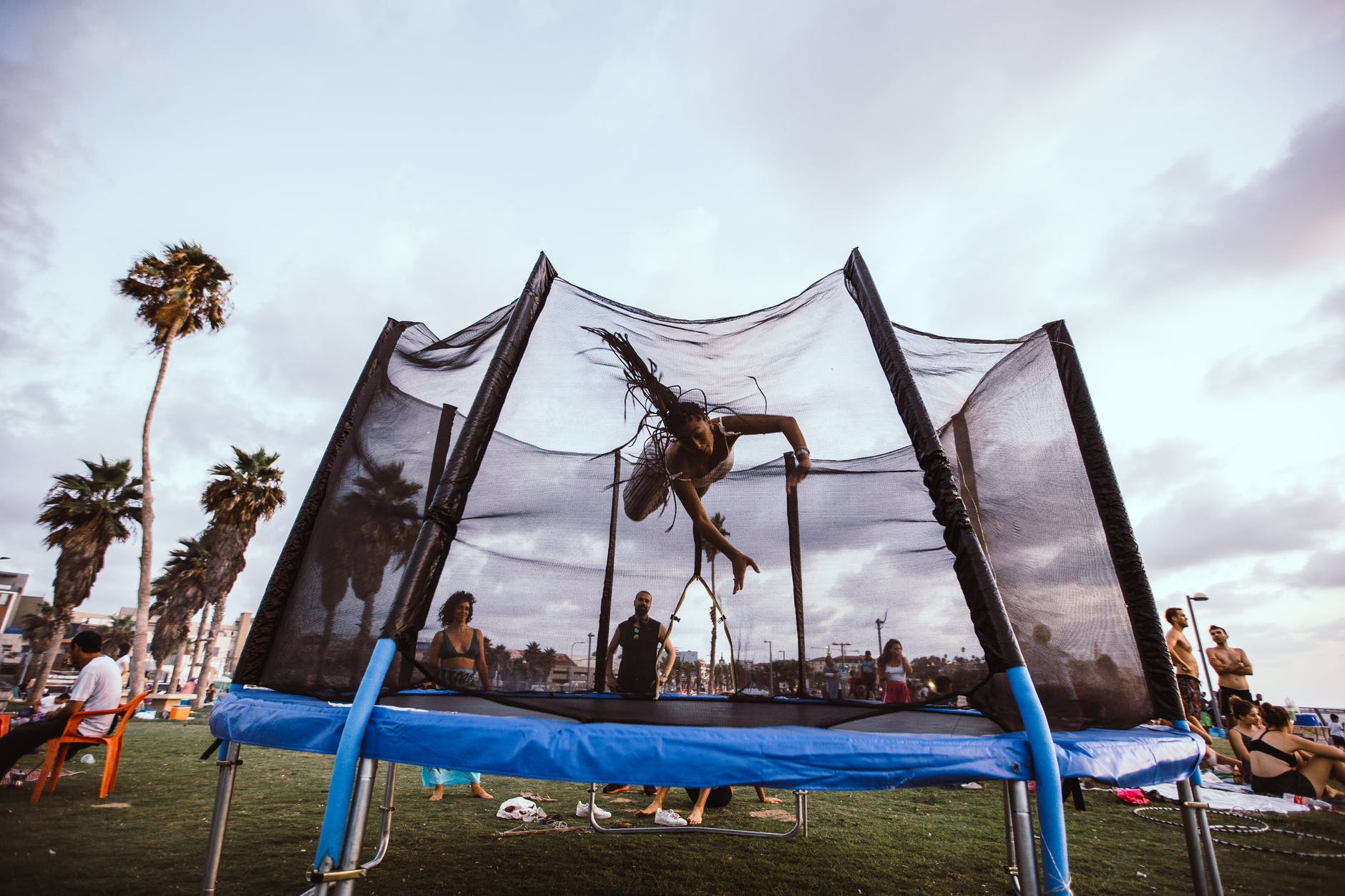 trampoline, thelashop, backyard upgrades