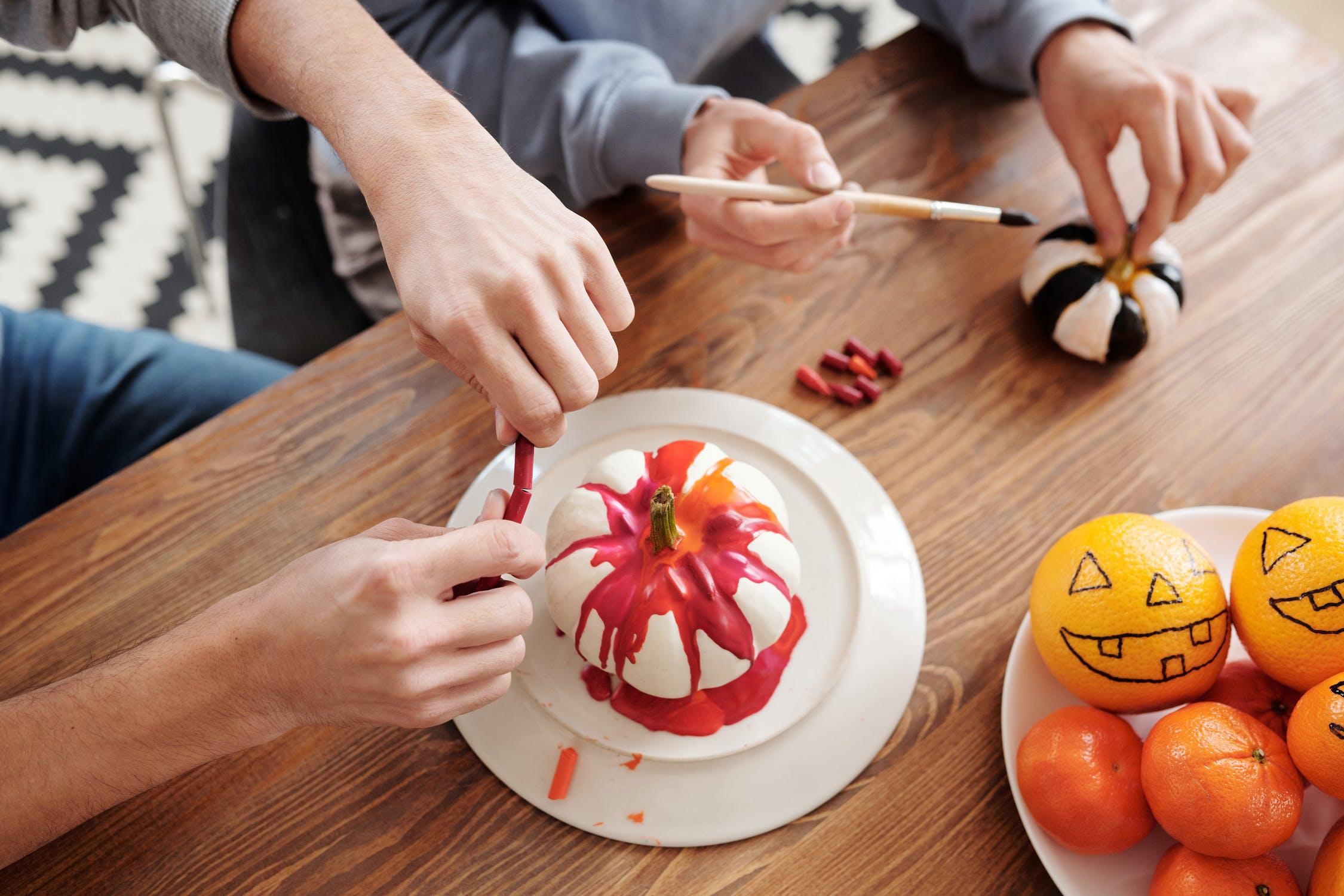 DIY Halloween decorations, yescomusa
