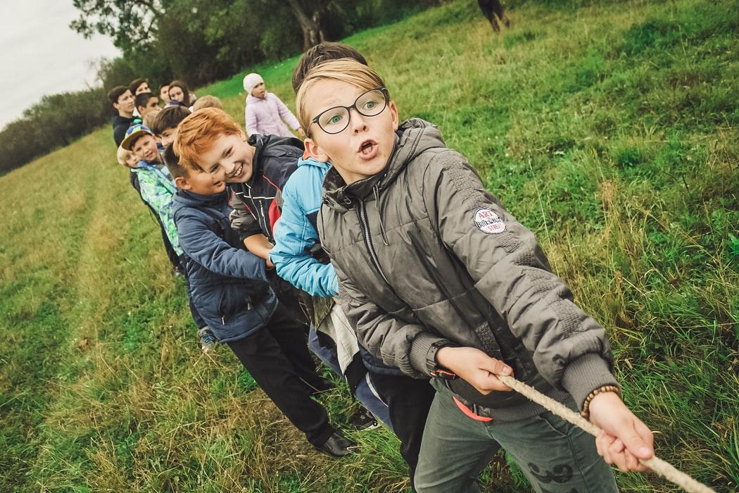 teamwork, camping, yescomusa, tug-a-war, camping tools