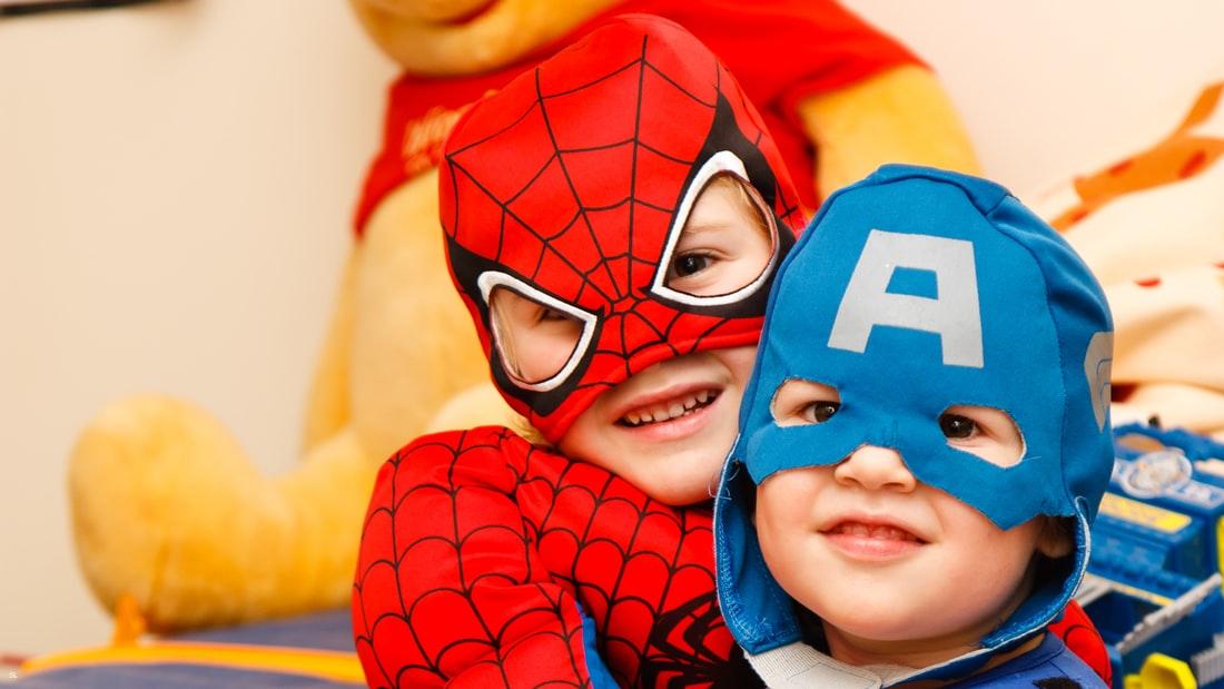 super hero costume kids, yescomusa