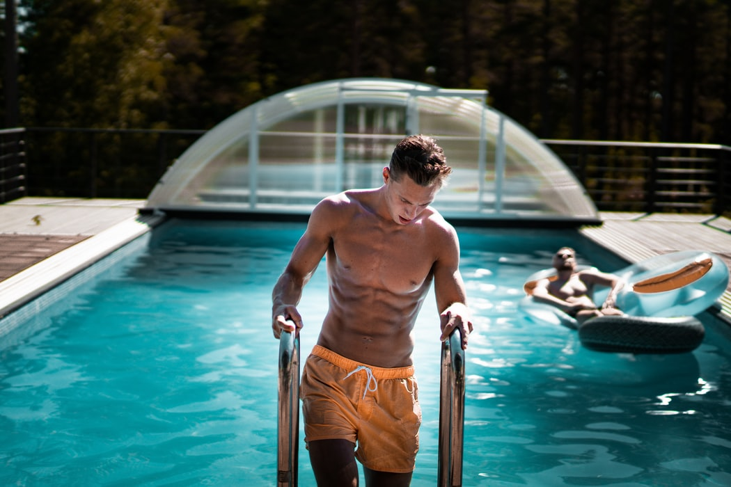 pool exercises, pool workout, how a pool helps you lose weight