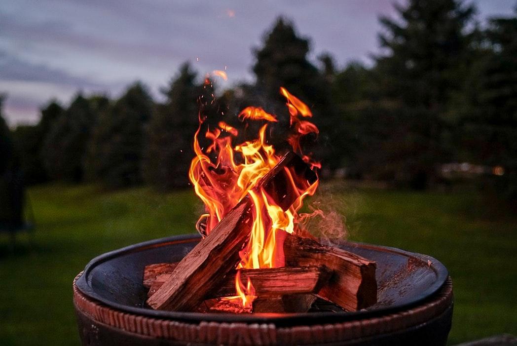 fire pit, home improvement, backyard upgrade, yescomusa