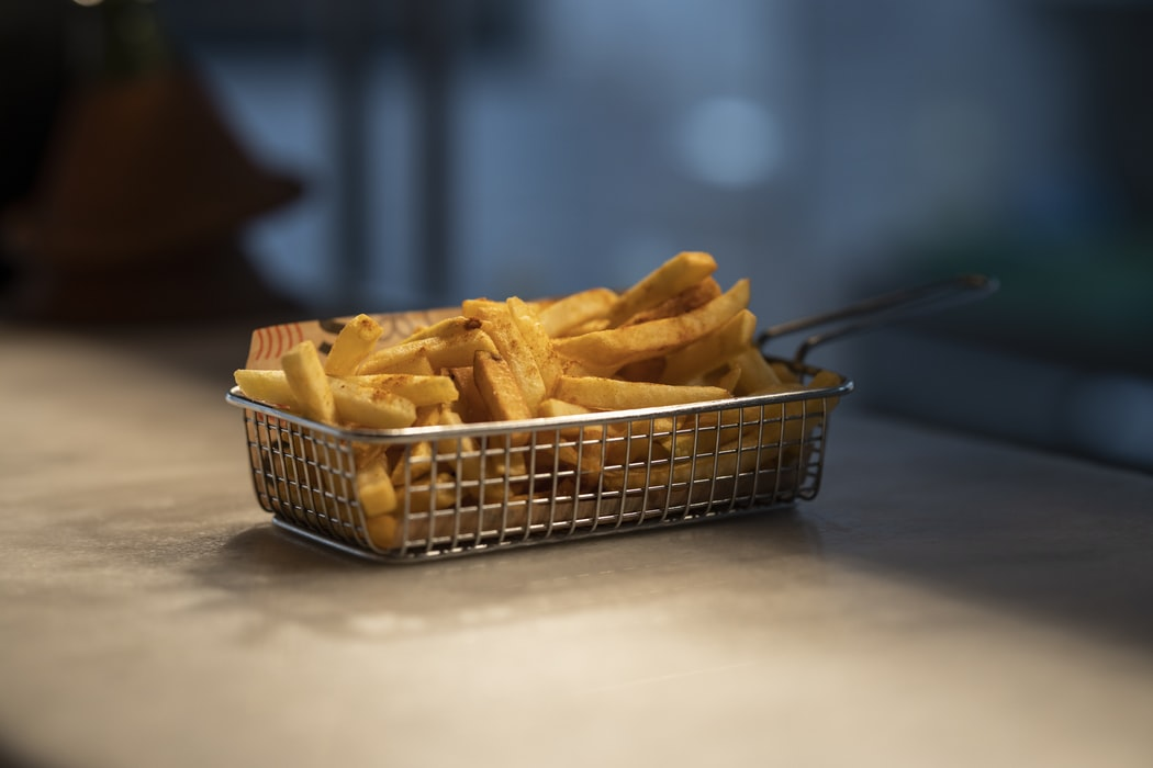 French fries, thelashop, los angeles, deep fryer