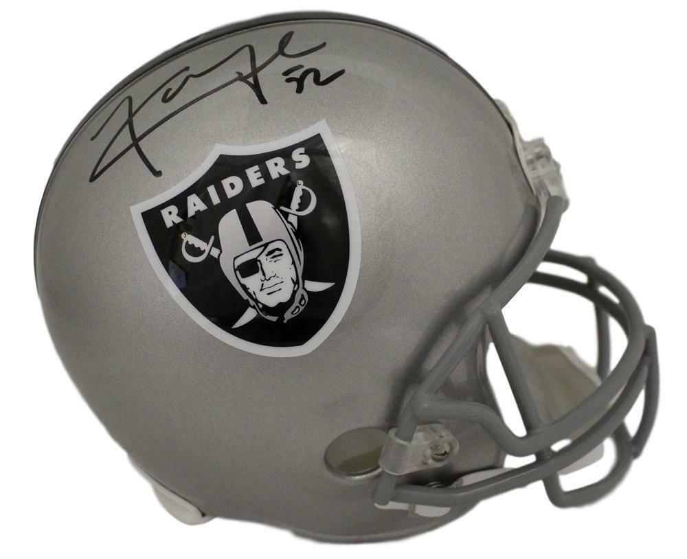 Khalil Mack Autographed//Signed Oakland Raiders Mini Helmet JSA
