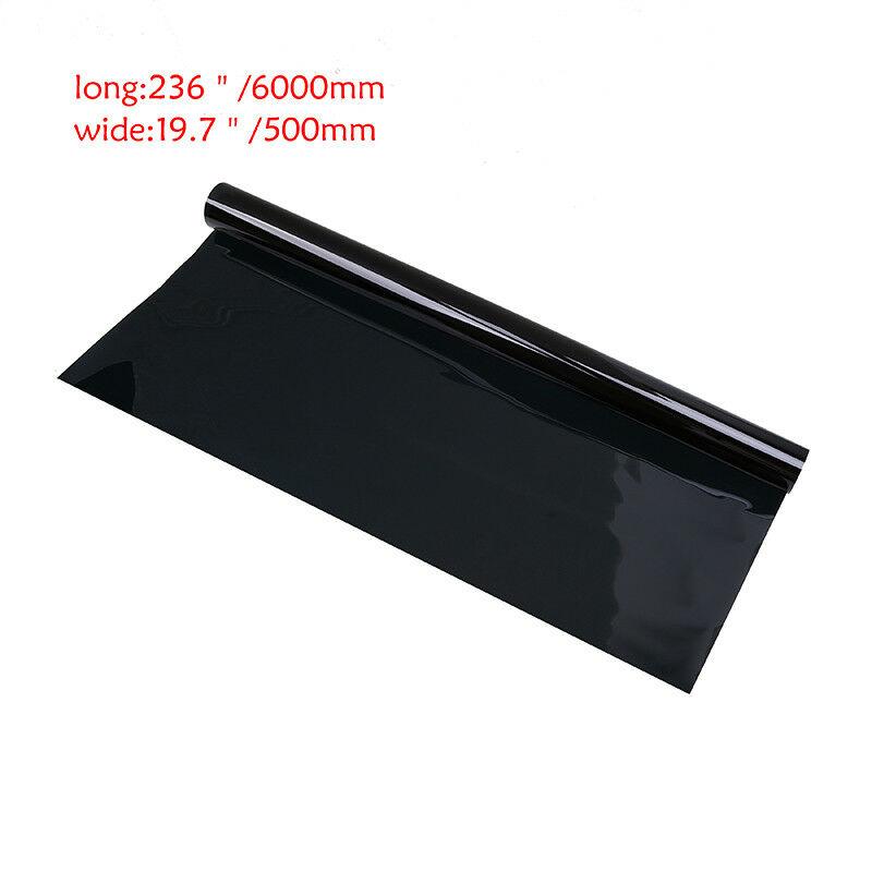 3M-1-5-15-25-35-50-VLT-Car-Window-Tint-Film-Roll-Size-Black-Universal-fit miniature 14