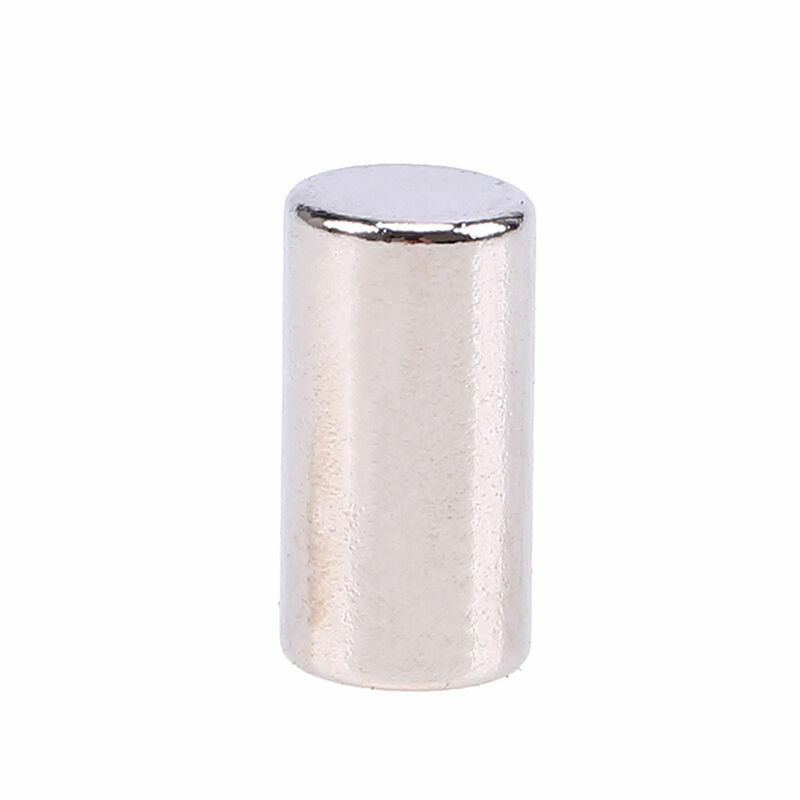 Neodymium Magnet Disc 1//2 Inch N52 Super Strong Rare Earth Cylinder 8 Pack