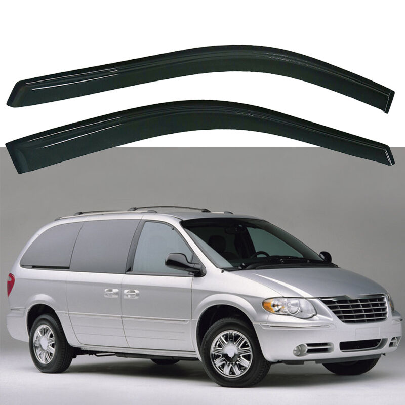 Stampede 6049-2 Smoke Tape-Onz 04-12 Chevy Colorado Canyon Window Vents Visors