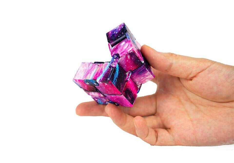 Sensory-Infinity-Cube-Stress-Fidget-Toys-for-Autism-Anxiety-Relief-Kids-Adult-UK thumbnail 50