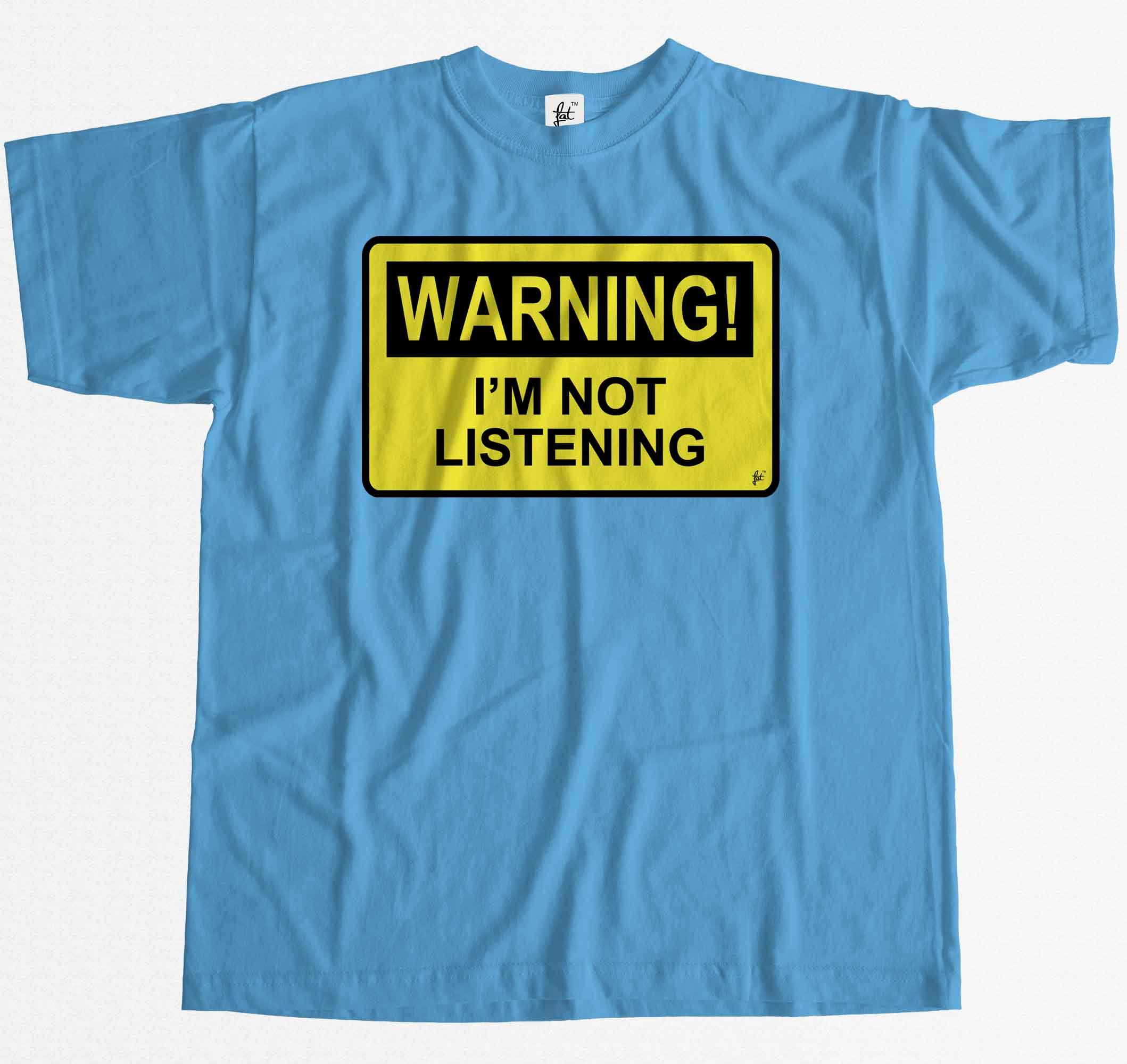 football t shirt peterborough warning