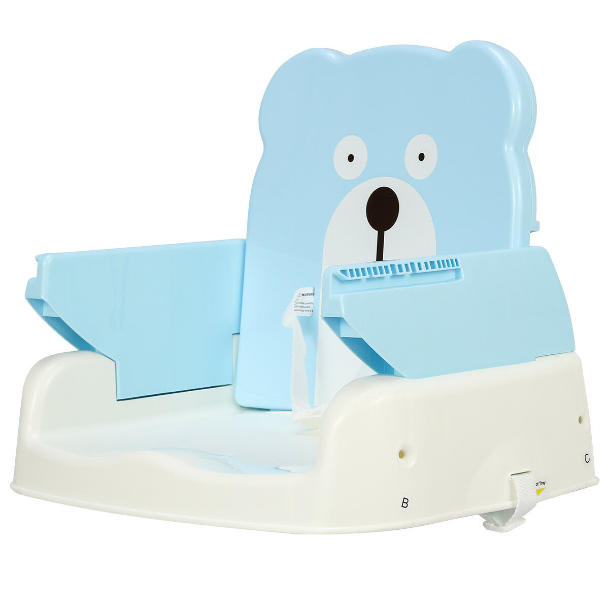 Incredible Details About Portable Folding Booster Seat Toddler Chair Adjustable Height Safety Belt Tray Ibusinesslaw Wood Chair Design Ideas Ibusinesslaworg