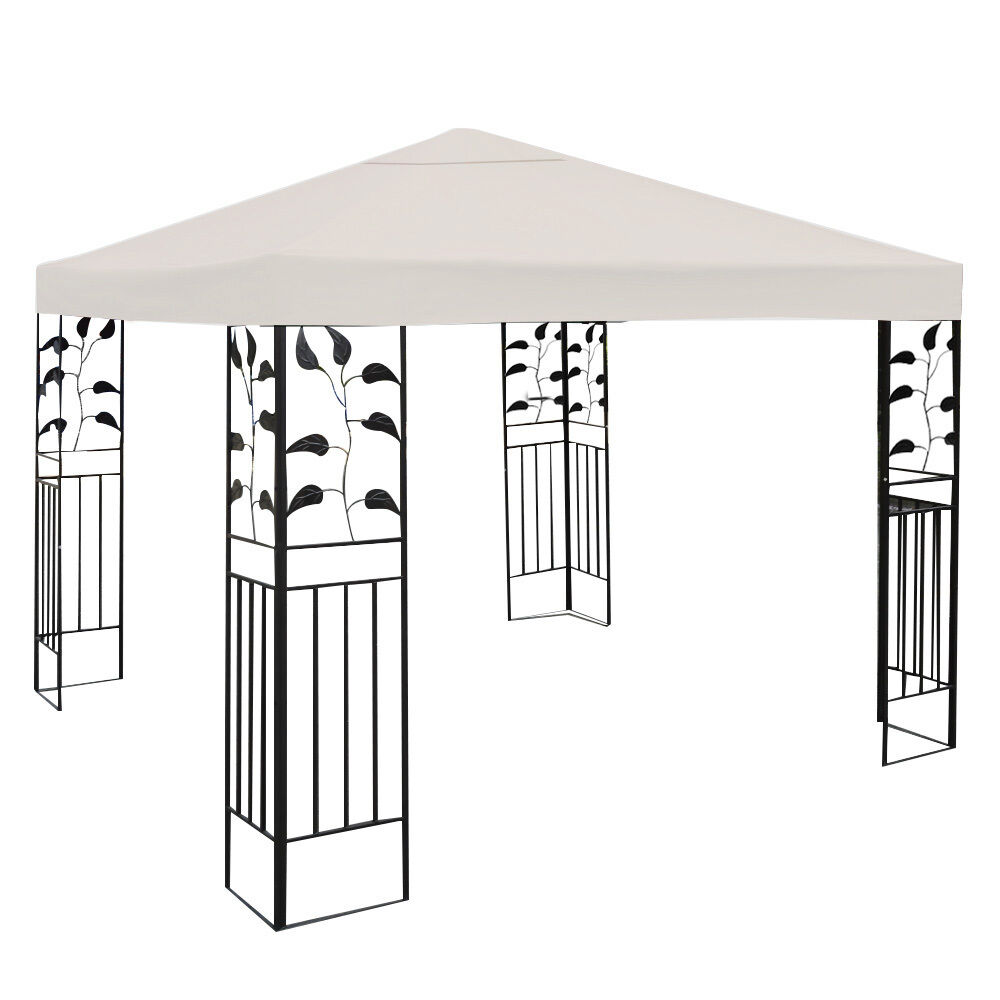 10-039-X-10-039-Gazebo-Top-Cover-Patio-Canopy-Replacement-1-Tier-or-2-Tier-3-Color-New thumbnail 4