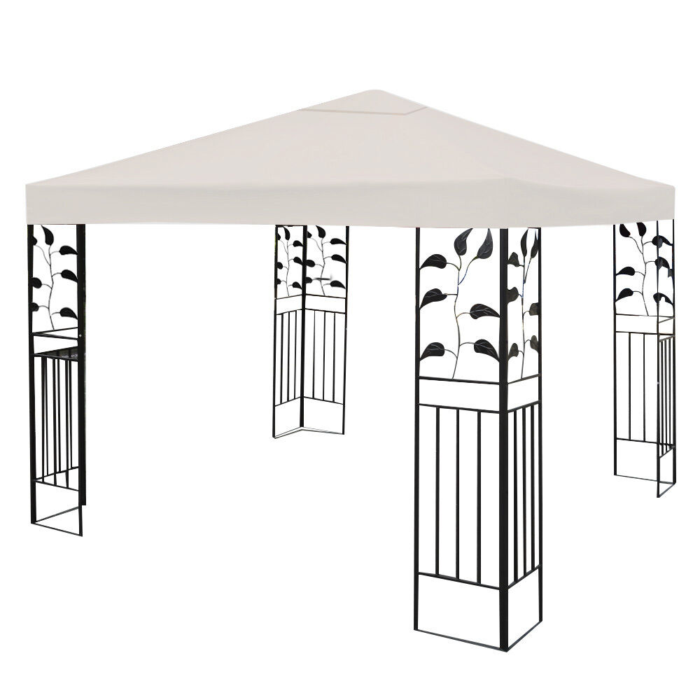 10-039-X-10-039-Gazebo-Top-Cover-Patio-Canopy-Replacement-1-Tier-or-2-Tier-3-Color-New thumbnail 7