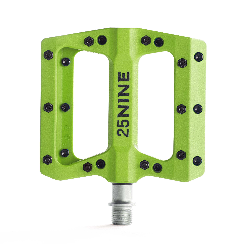 25Nine-Lightweight-Thermoplastic-Bike-Pedals-Wide-Flat-MTB-BMX-Platform thumbnail 16