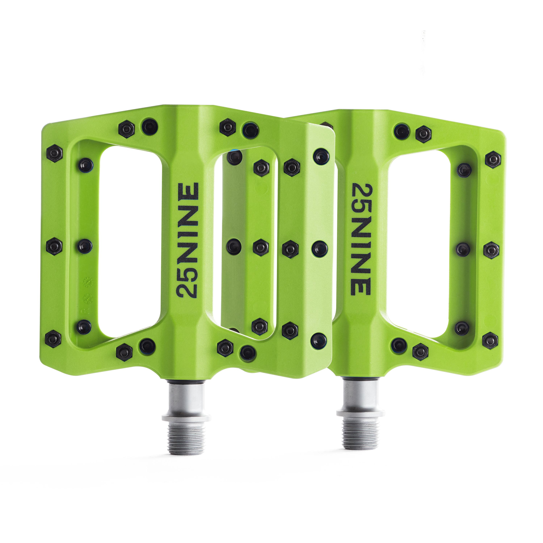 25Nine-Lightweight-Thermoplastic-Bike-Pedals-Wide-Flat-MTB-BMX-Platform thumbnail 17