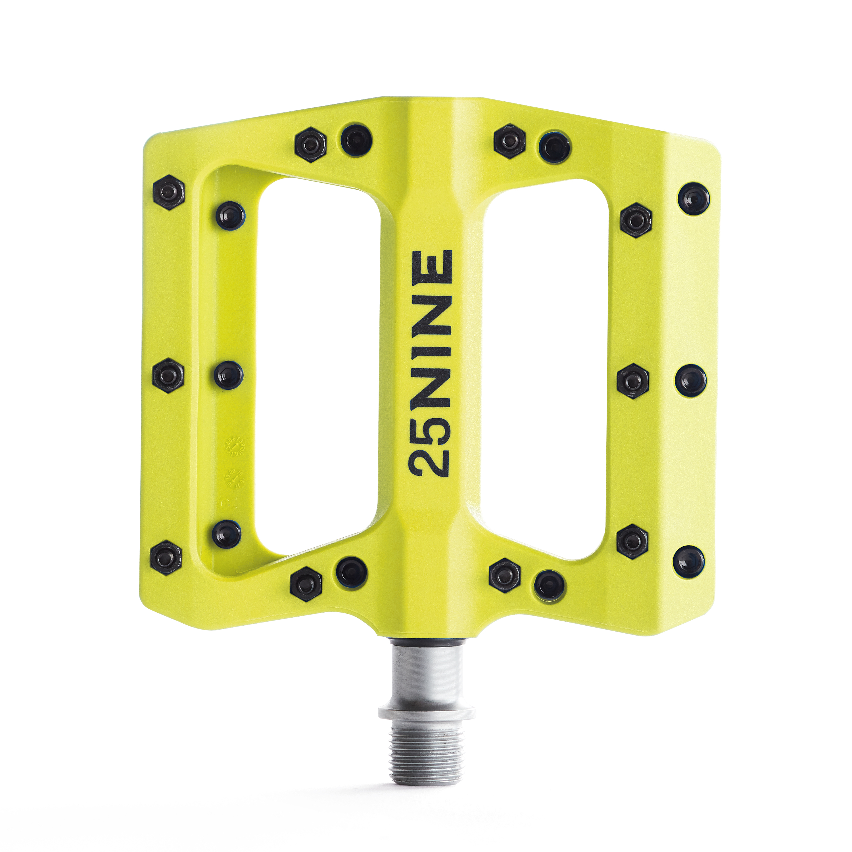 25Nine-Lightweight-Thermoplastic-Bike-Pedals-Wide-Flat-MTB-BMX-Platform thumbnail 36