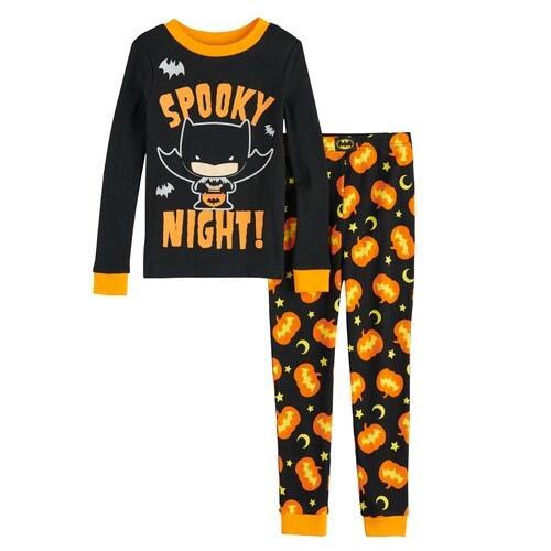 New Paw Patrol Dog Halloween Costume Glow in Dark Toddlers Pajama Set 4T
