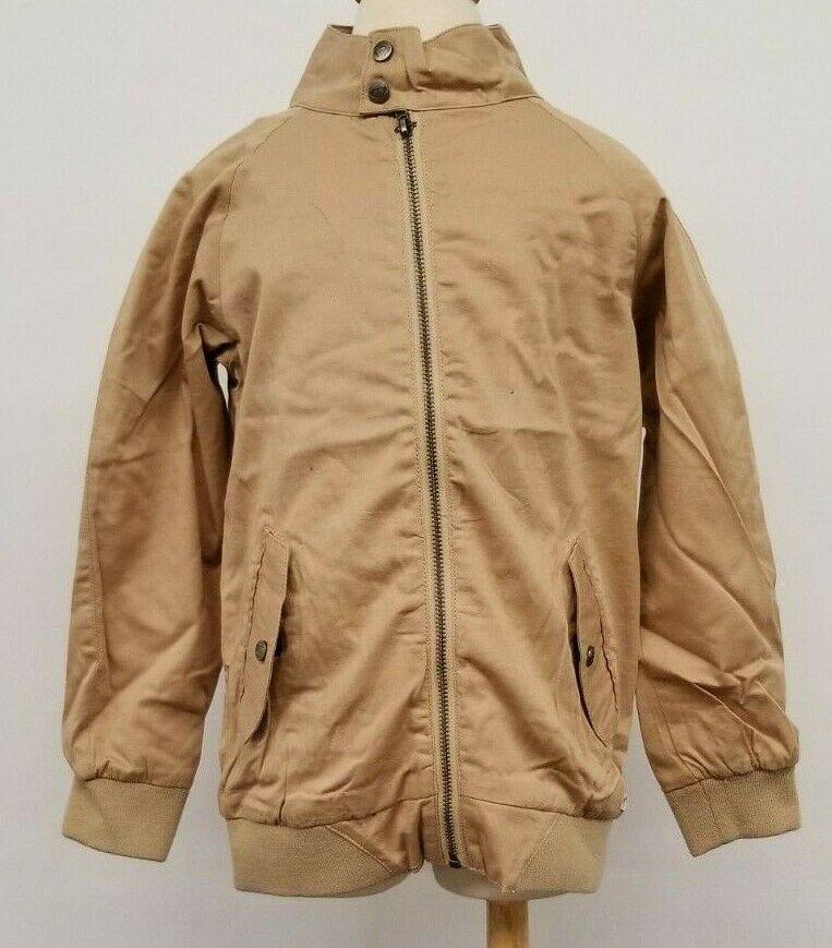 Appaman Kids Toddlers Zip Up Pocket Coat Jacket Tan Beige