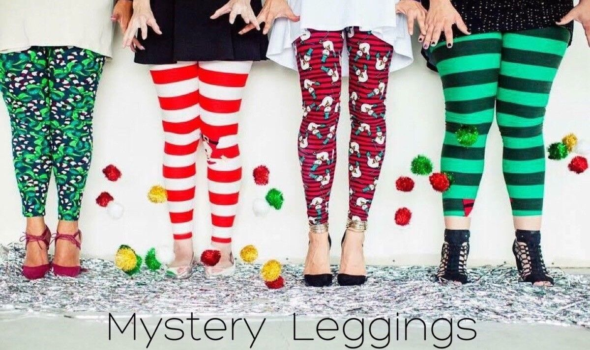 Lularoe Christmas Leggings 2019.Details About New Lularoe Christmas Mystery Leggings Kids S M L Xl Tween Os Tc Tc2 Tall Curvy