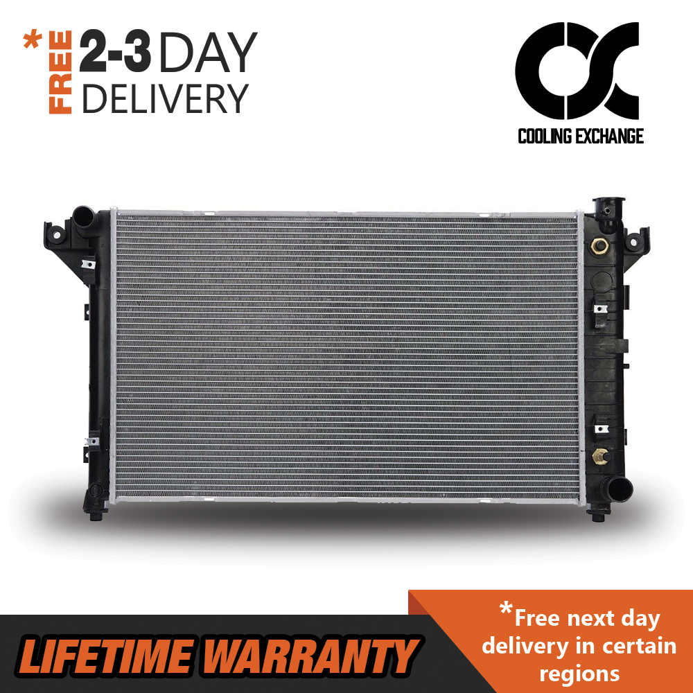 Radiator For 94-01 Dodge Ram Pickup Truck 1500 2500 3500 3.9L 5.2L 5.9L V6 V8