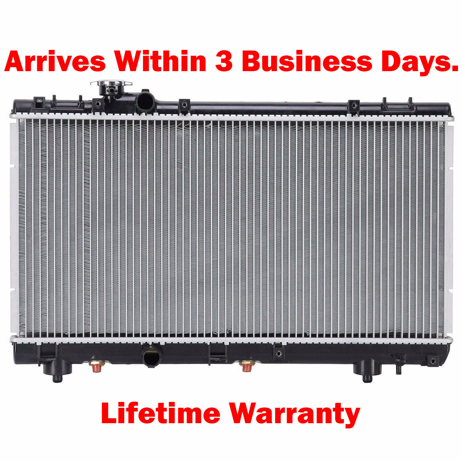 "1 Thick /"" 1750 New Radiator For Toyota Paseo 96-99 Tercel 95-99 1.5 L4"