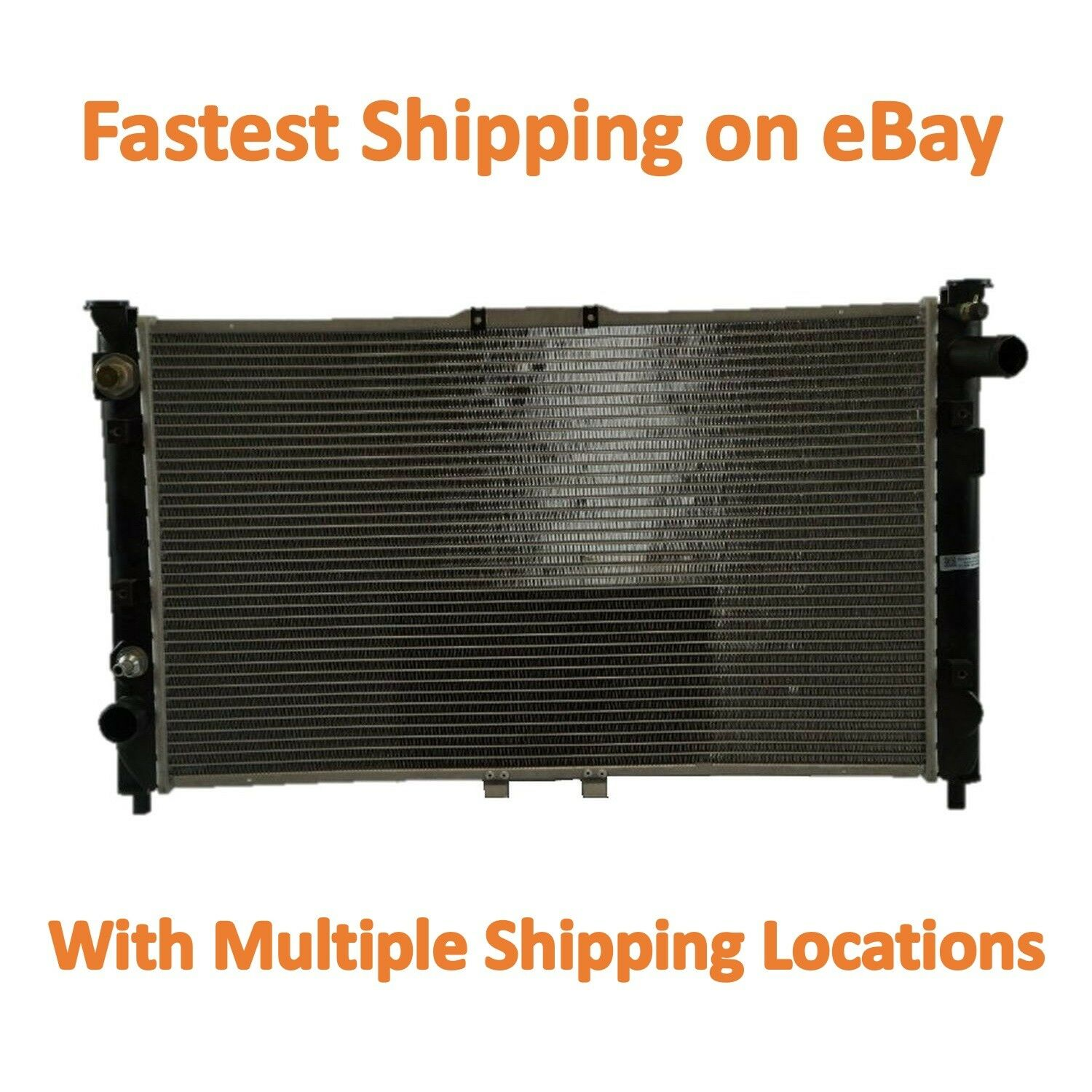 Radiator Replacement For 95-02 Mazda Millenia V6 2.3L 2.5L MA3010107 New 2 Row