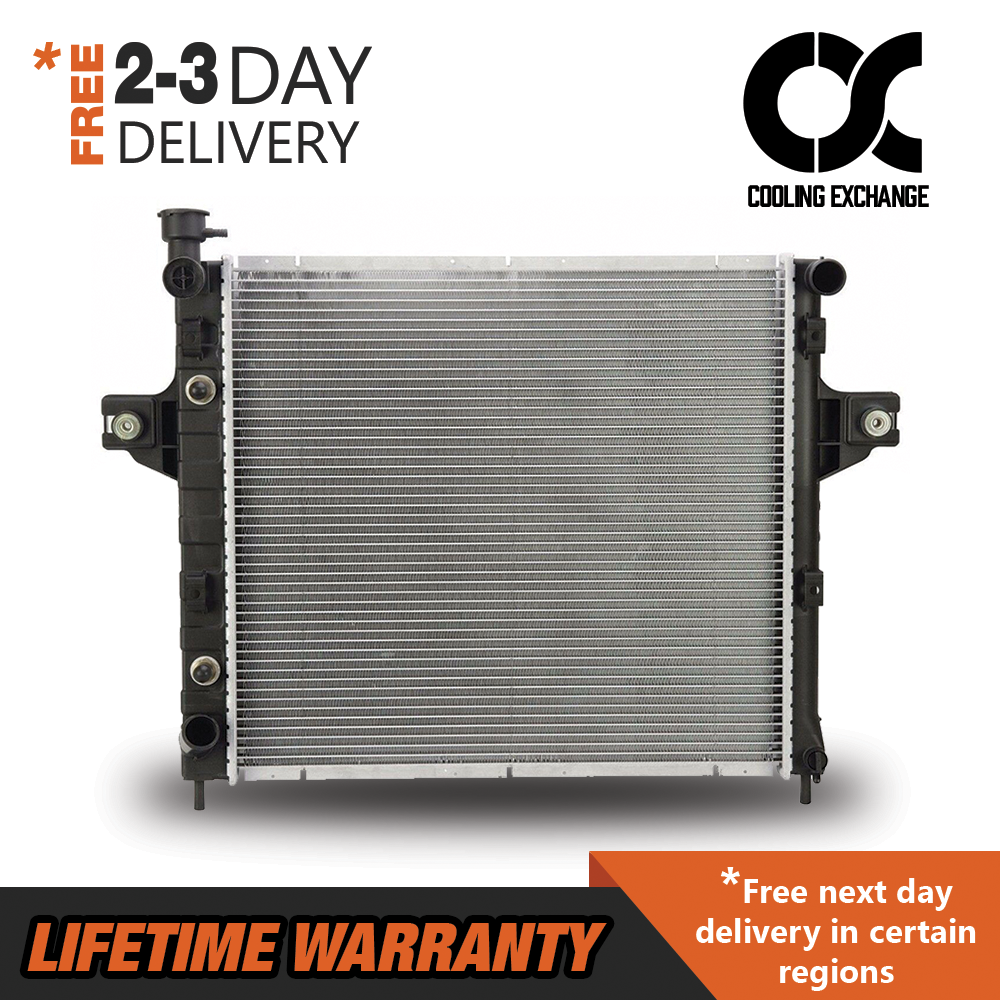 2262 New Radiator For Jeep Grand Cherokee 1999-2004 4.0 L6 Lifetime Warranty