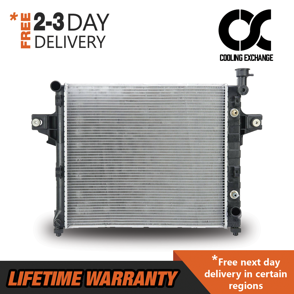Radiator For 2001-2004 Jeep Grand Cherokee V8 4.7L Fast Free Shipping