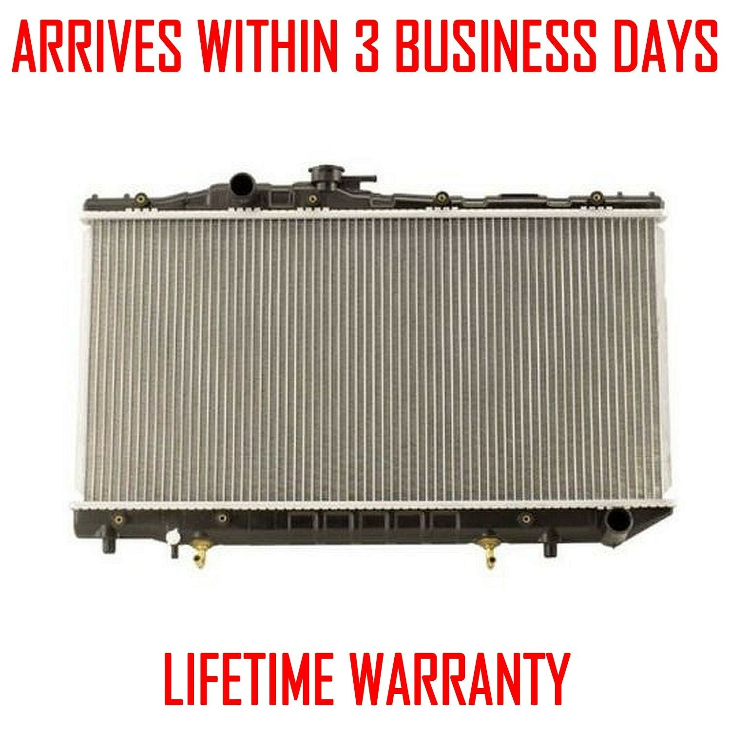 1738 New Radiator For Volvo 960 92-97 S90 V90 97-98 2.9 L6 Lifetime Warranty