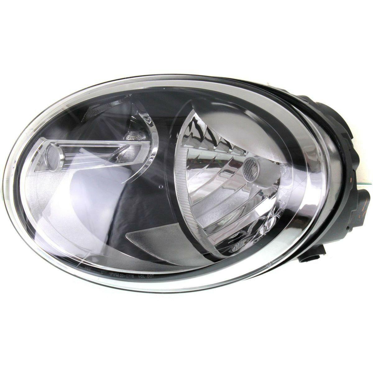 NEW HALOGEN HEAD LAMP ASSEMBLY DRIVER SIDE FITS VOLKSWAGEN BEETLE VW2502106