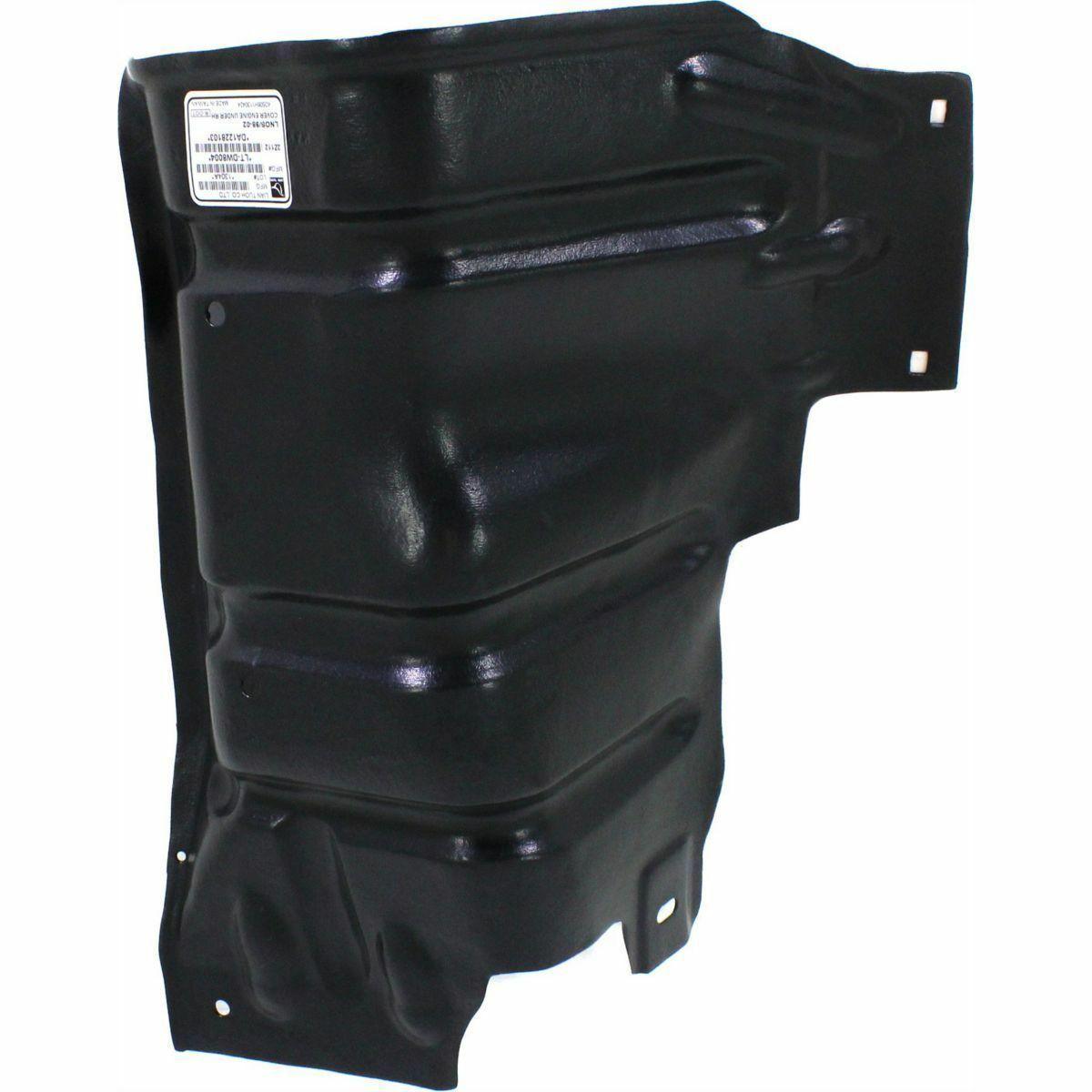 New Passenger Side Engine Splash Shield Fits 1999-2002 ...