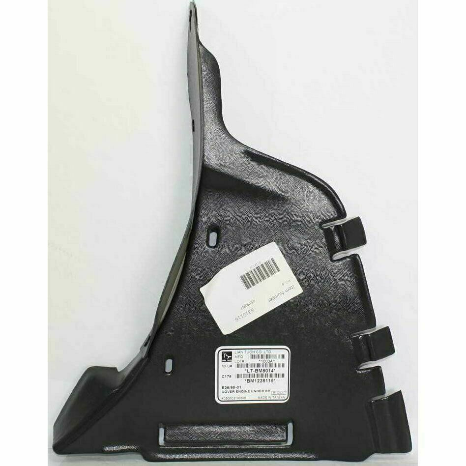 New Set of 2 Pair LH /& RH Side Engine Splash Shield Fits BMW 740i 740iL 750iL