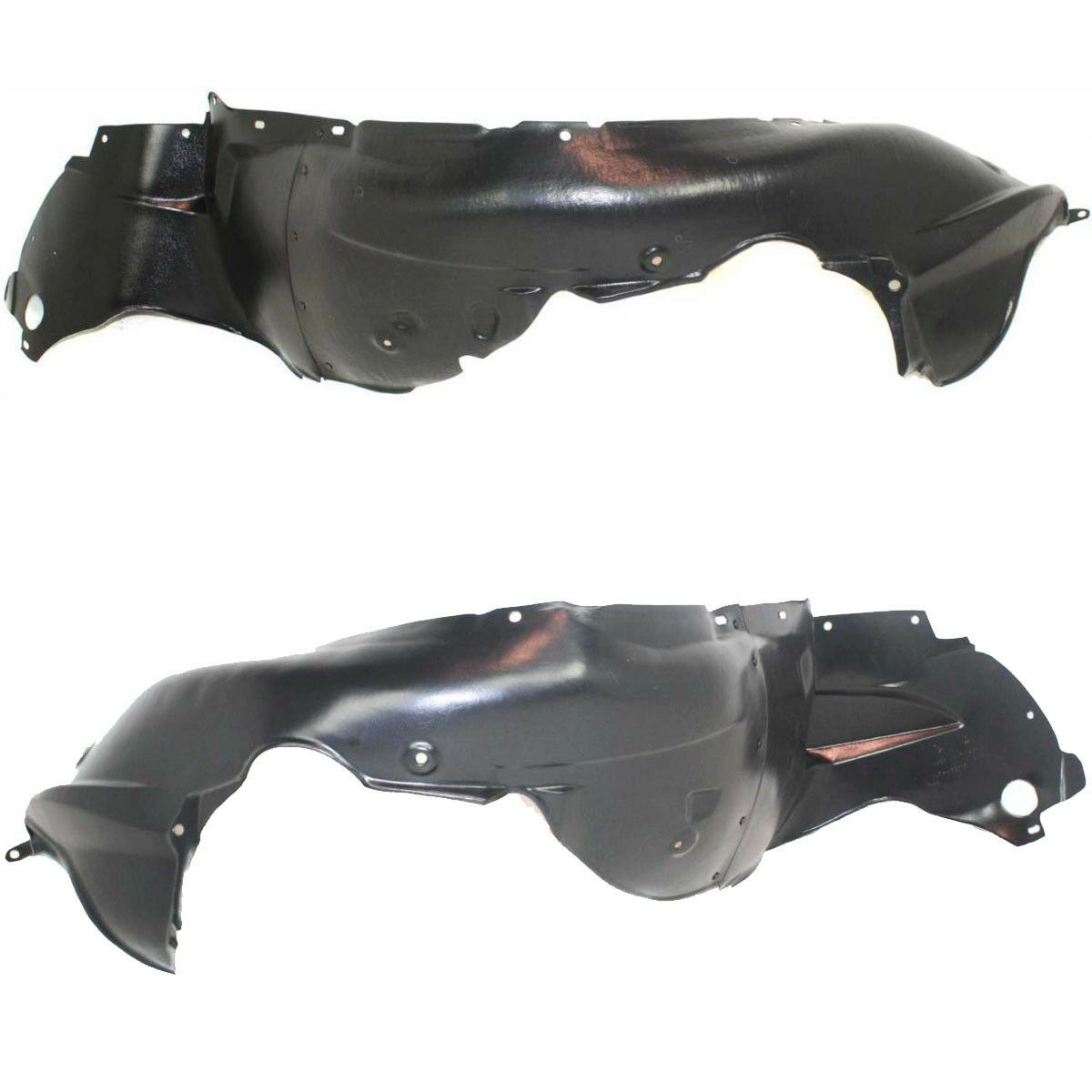 New Set Of 2 LH /& RH Side Front Inner Fender Splash Shield Liner Fits Scion xB
